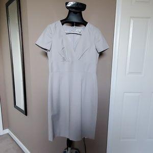 Light Gray Banana Republic Dress with Stretch, S12